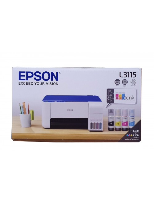 EPSON INK TANK PRINTER L3115 A4 MULTIFUNCTION