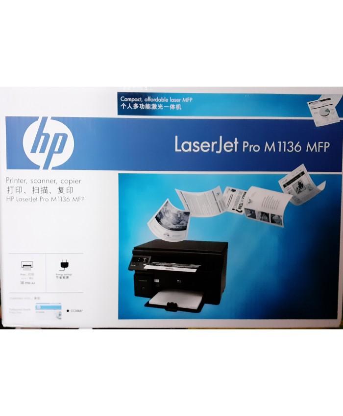 HP LASER PRINTER MFP M1136 MULTIFUNCTION