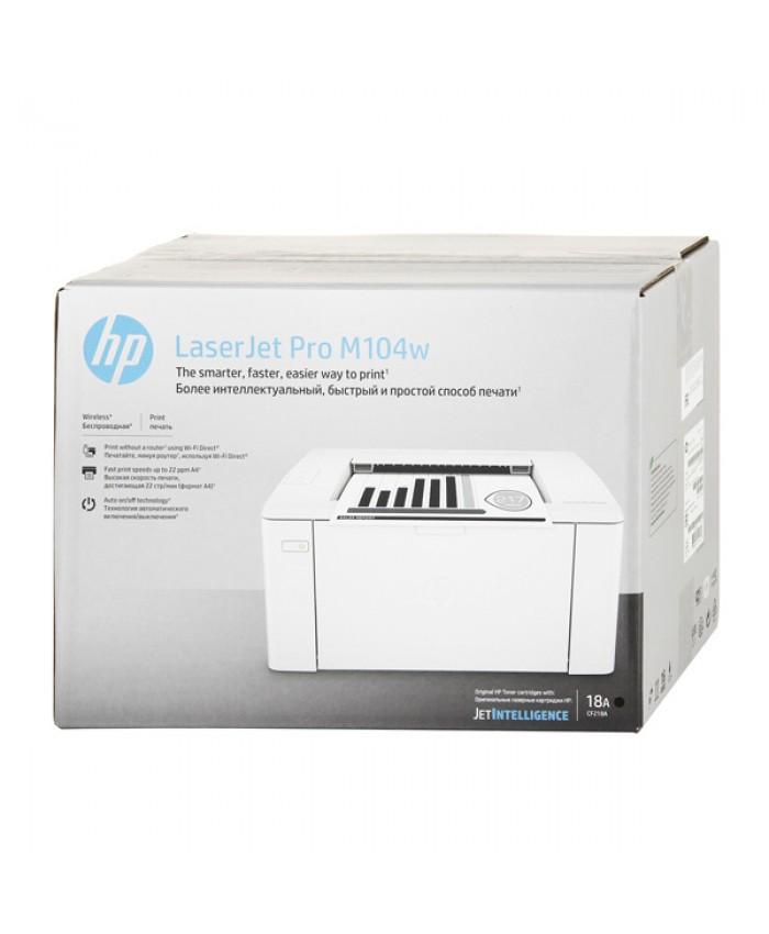 HP LASER JET PRO PRINTER M104W