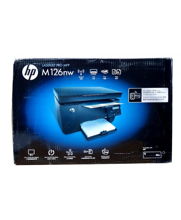 HP LASER PRINTER MFP M126NW MULTIFUNCTION