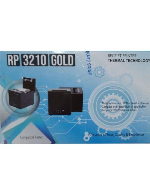 TVS THERMAL RECEIPT PRINTER RP3210 GOLD