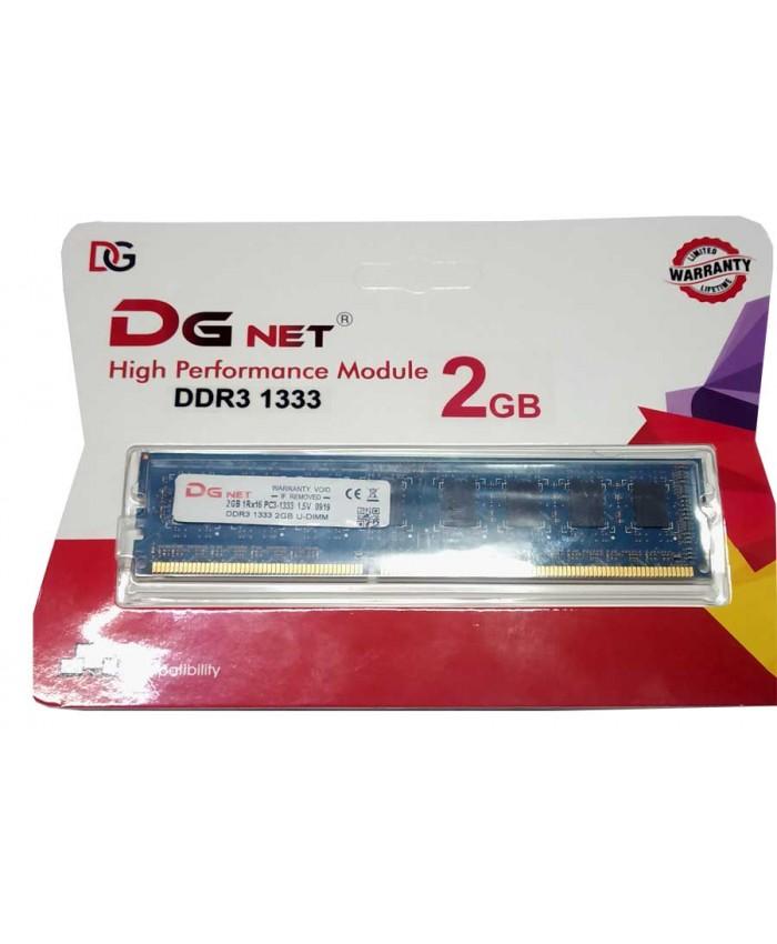 DG NET RAM 2 GB DDR3 DESKTOP 1333 MHz