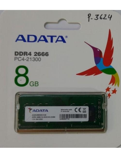 ADATA RAM 8GB DDR4 LAPTOP 2666 MHZ