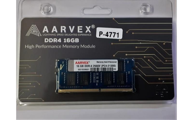 AARVEX RAM 16GB DDR4 LAPTOP 2666 MHZ