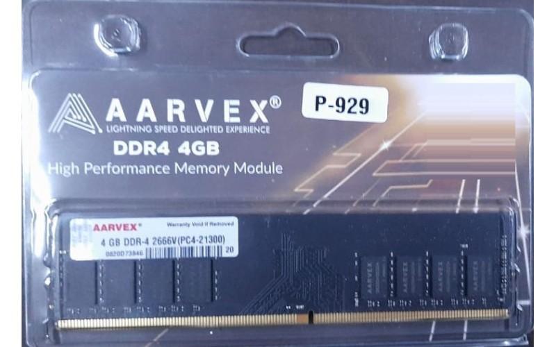 AARVEX RAM 4GB DDR4 DESKTOP 2666 Mhz