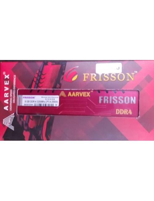 AARVEX RAM 8GB DDR4 DESKTOP 3200 MHz (FRISSON GAMING)