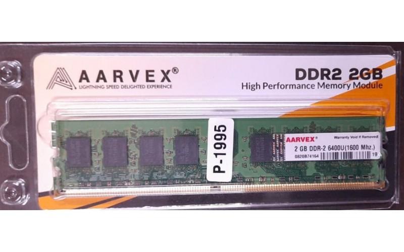 AARVEX RAM 2GB DDR2 DESKTOP 800 MHz (BIG PCB)