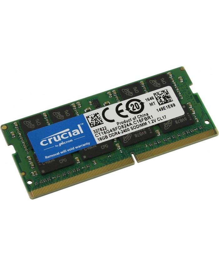 CRUCIAL RAM 16 GB DDR4 LAPTOP