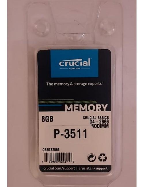 CRUCIAL RAM 8GB DDR4 LAPTOP 2666MHZ