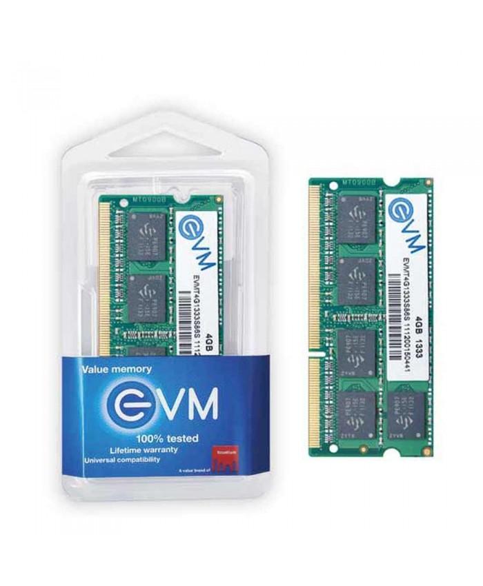 EVM RAM 4 GB DDR3 LAPTOP 1600 MHz