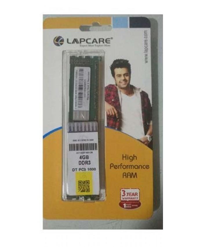 LAPCARE RAM 4GB DDR3 DESKTOP 1600 MHZ