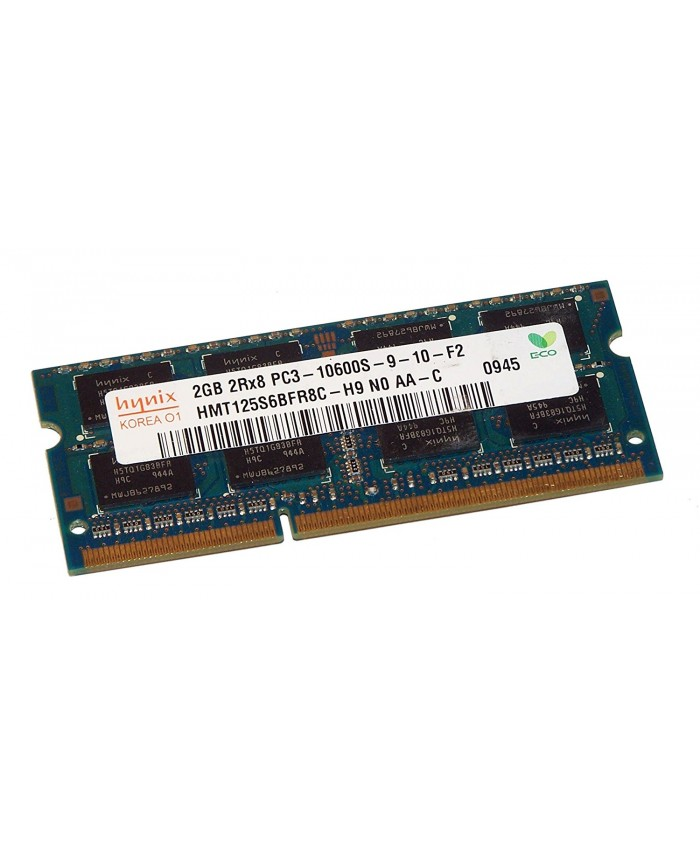 RAM 2GB DDR3 LAPTOP 1333 / 1600 MHz (PULLOUT)