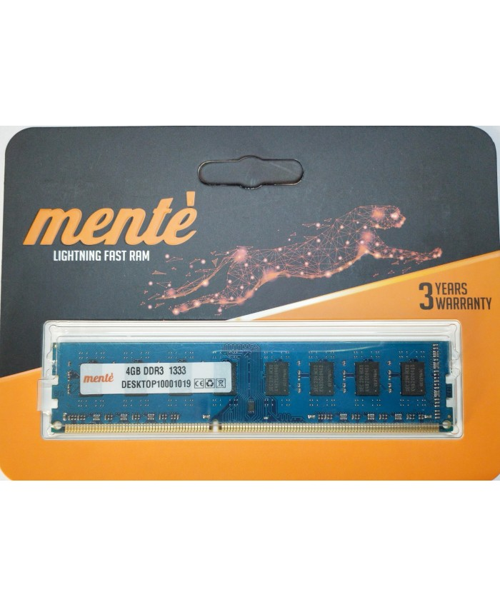 MENTE RAM 4 GB DDR3 DESKTOP