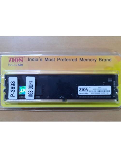 ZION RAM 8GB DDR4 DESKTOP 2666 MHZ