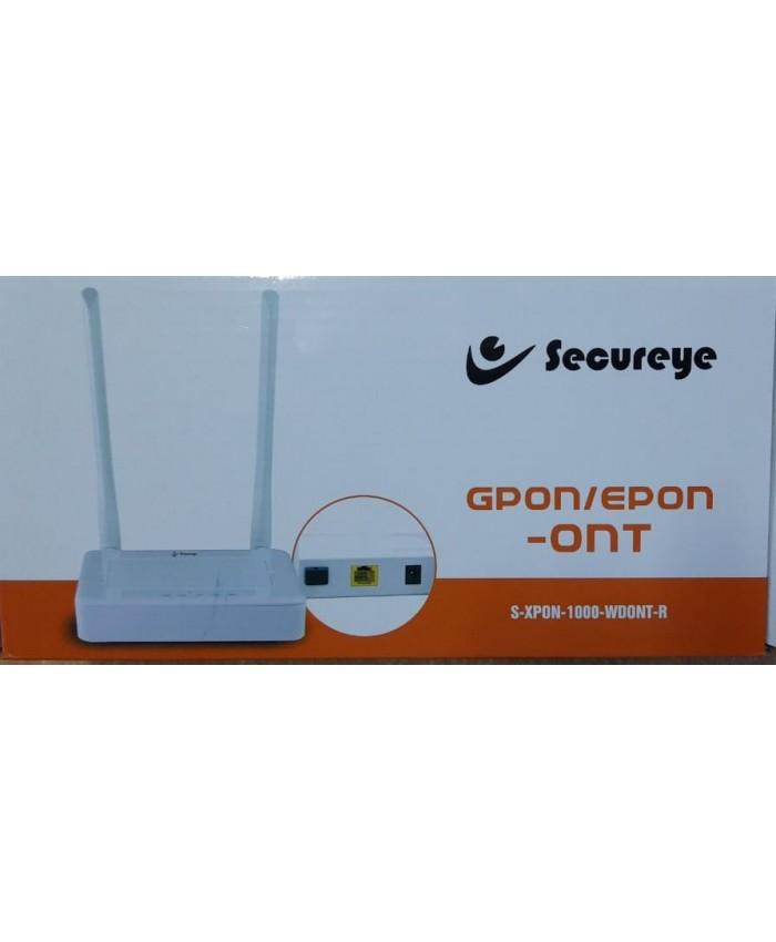SECUREYE FIBER ROUTER ONT (EPON/GPON/XPON)