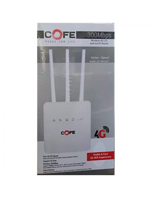 COFE SIM ROUTER 4G WIFI (CF-4GVL037)