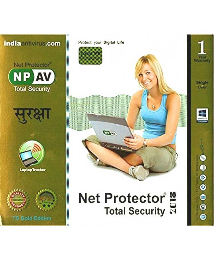 NET PROTECTOR TOTAL SECURITY (GOLD) 1 YEAR 1 USER