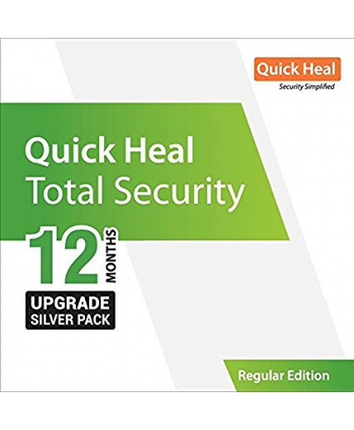 QUICK HEAL TOTAL SECURITY RENEWAL TR1UP (1 USER 1 YEAR)