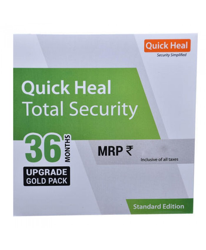QUICK HEAL TOTAL SECURITY RENEWAL TS1UP (1 USER 3 YEAR)