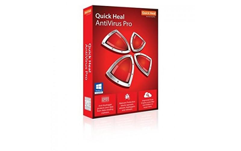 QUICK HEAL ANTIVIRUS PRO LS1 (1 USER 3 YEARS)