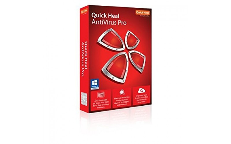QUICK HEAL ANTIVIRUS PRO LR3 (3 USERS 1 YEAR)