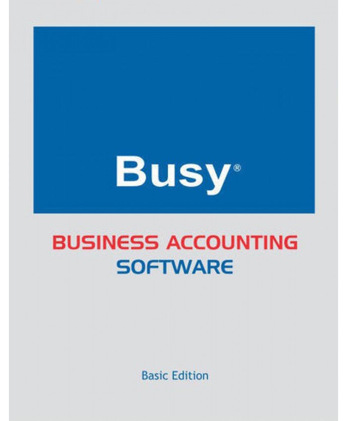 BUSY BUSINESS ACCOUNTING SOFTWARE SINGLE USER (BASIC)