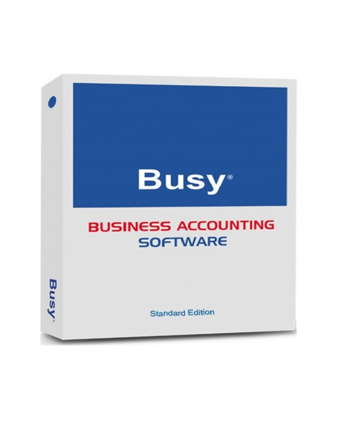 BUSY BUSINESS ACCOUNTING SOFTWARE SINGLE USER (STANDARD)