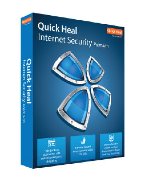 QUICK HEAL INTERNET SECURITY IR1 (1 USER 1 YEAR)