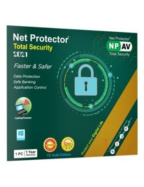 NET PROTECTOR TOTAL SECURITY (GOLD) 1 USER 1 YEAR