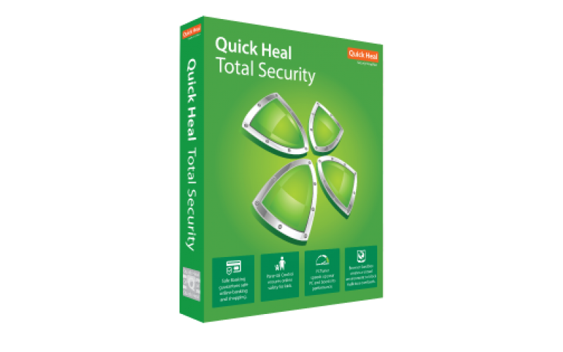 QUICK HEAL TOTAL SECURITY TS2 (2 USERS 3 YEARS)
