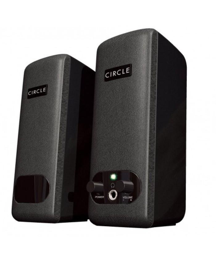 CIRCLE STEREO SPEAKER 2.0 (CT 220)