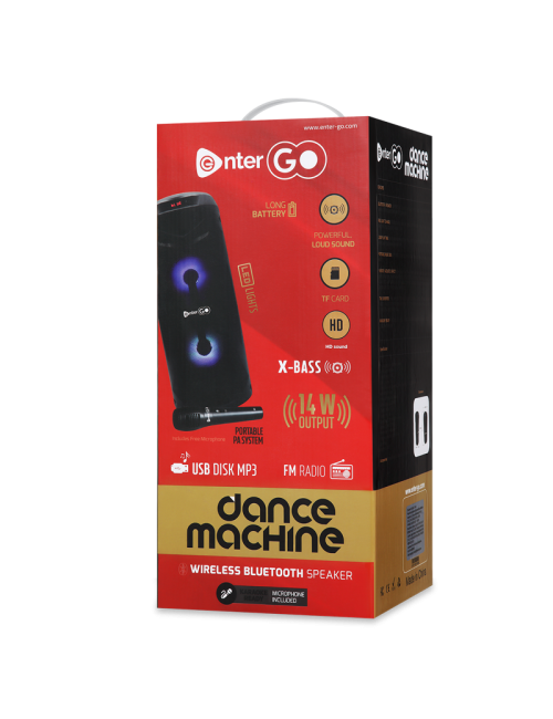 ENTER BLUETOOTH SPEAKER DANCE MACHINE 1.0