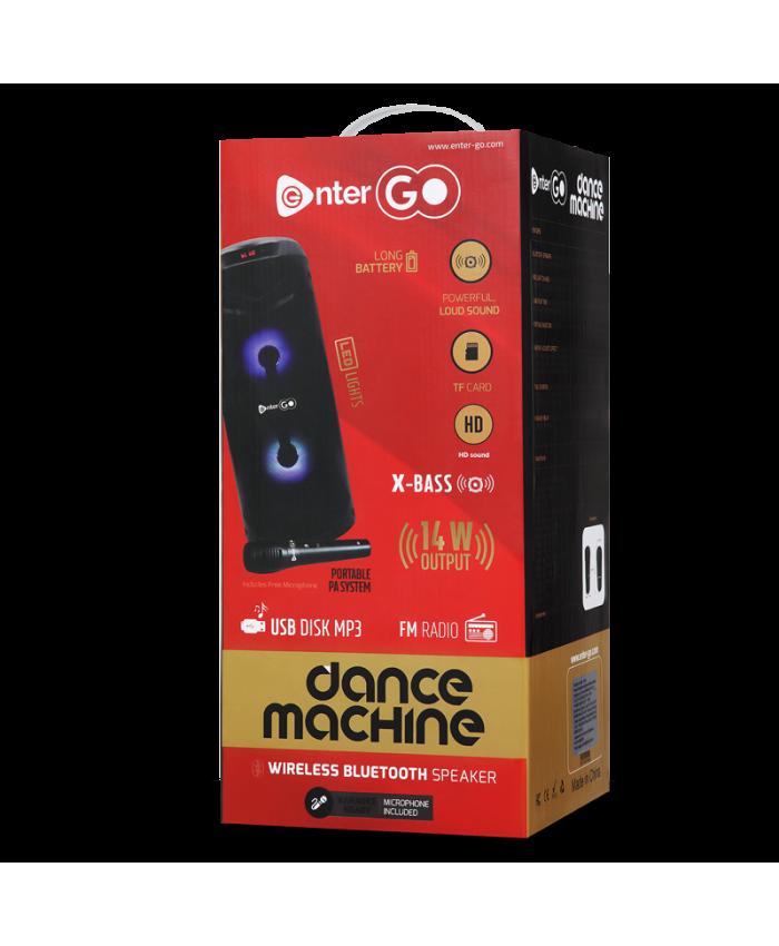 ENTERGO BLUETOOTH SPEAKER DANCE MACHINE 1.0