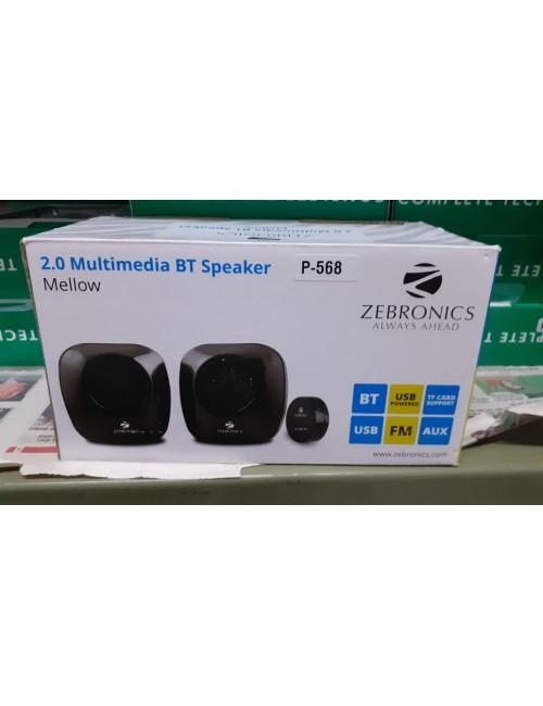 ZEBRONICS USB SPEAKER 2.0 (MELLOW)
