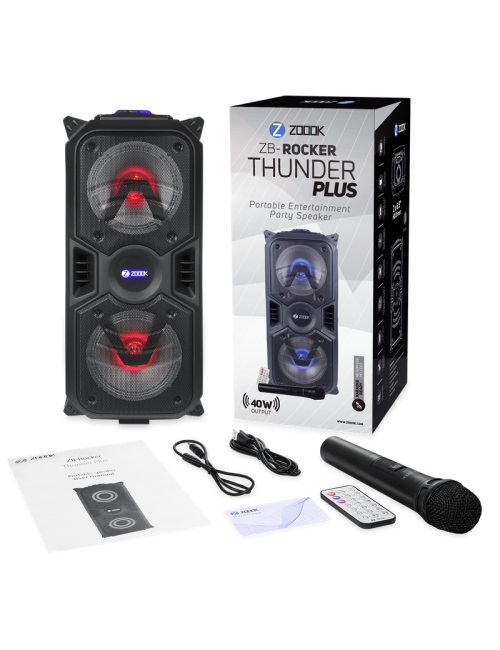 ZOOOK BLUETOOTH SPEAKER 1.0 (ROCKER THUNDER PLUS)