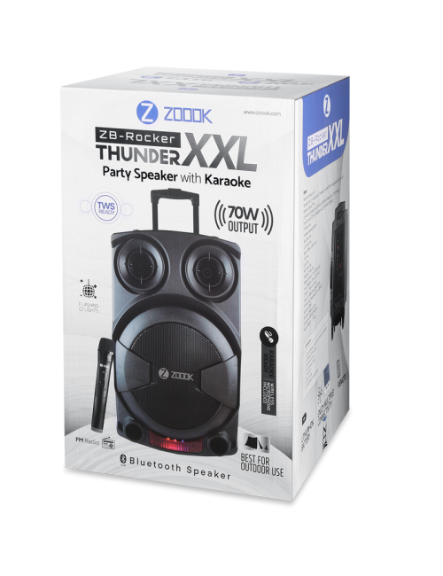 ZOOOK BLUETOOTH SPEAKER 1.0 (ROCKER THUNDER XXL)
