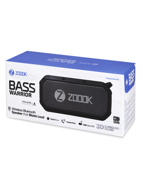 ZOOOK BLUETOOTH SPEAKER (BASS WARRIOR) 5.0