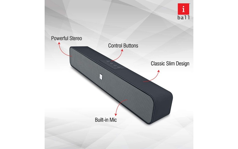 IBALL BLUETOOTH SPEAKER MUSI BASE