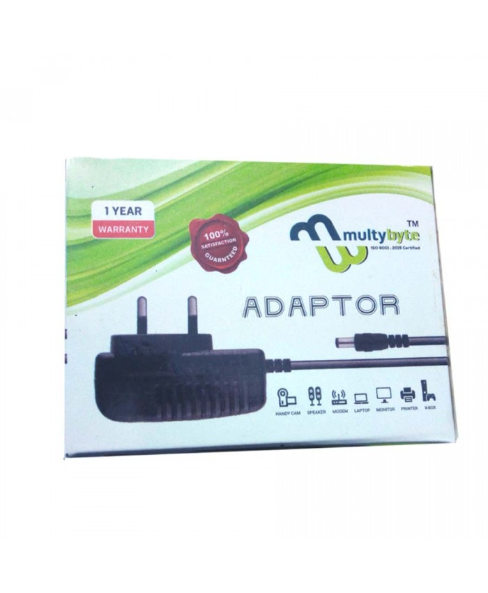 MULTYBYTE ADAPTER 12V/2A (DUAL PIN)
