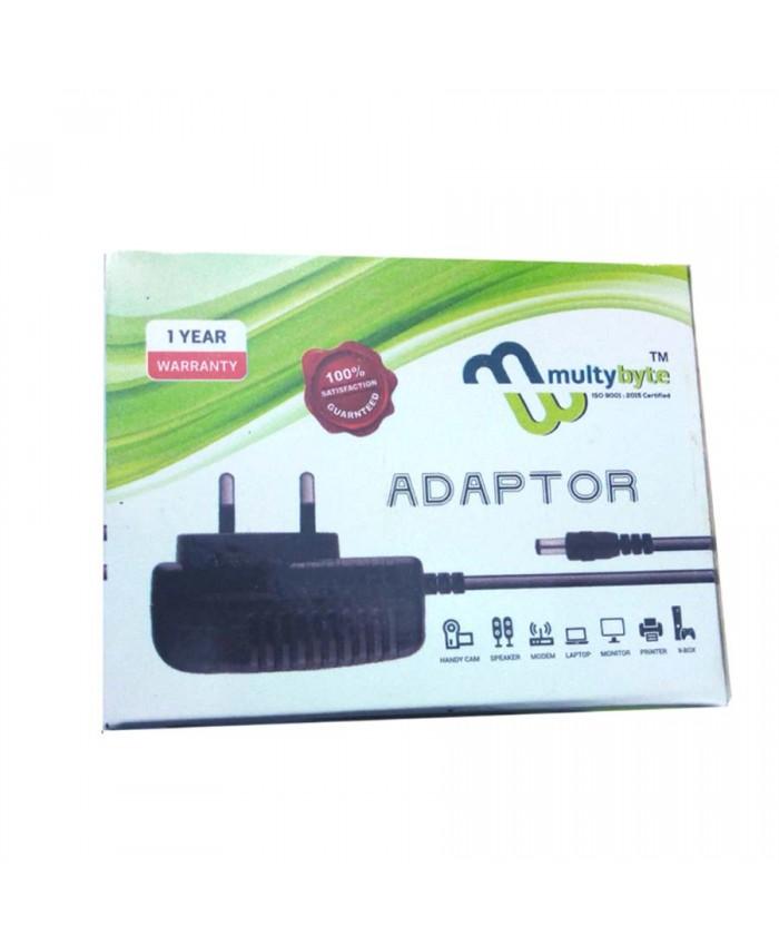 MULTYBYTE ADAPTER 12V/2A (SINGLE PIN)
