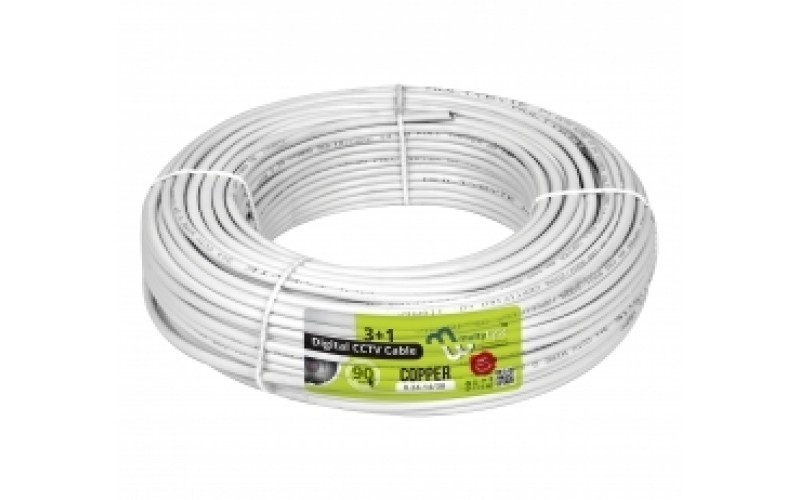 CCTV CABLE 3+1 MULTYBYTE ECO