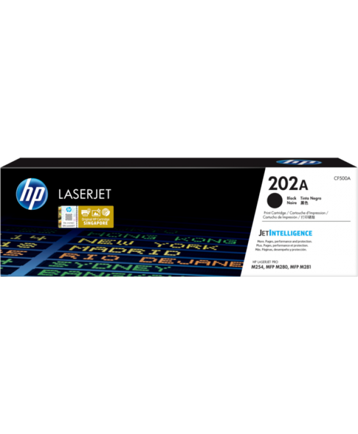 HP TONER CARTRIDGE LASER JET 202A BLACK (ORIGINAL)