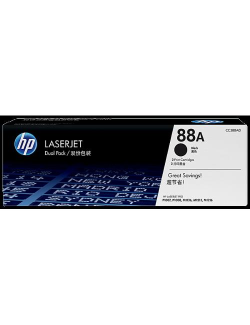 HP TONER CARTRIDGE LASER JET 88A BLACK DUAL PACK (ORIGINAL)