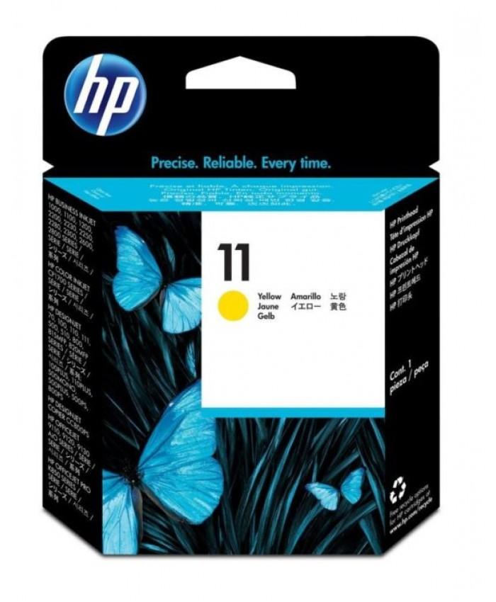HP PRINTHEAD 11 YELLOW (ORIGINAL)