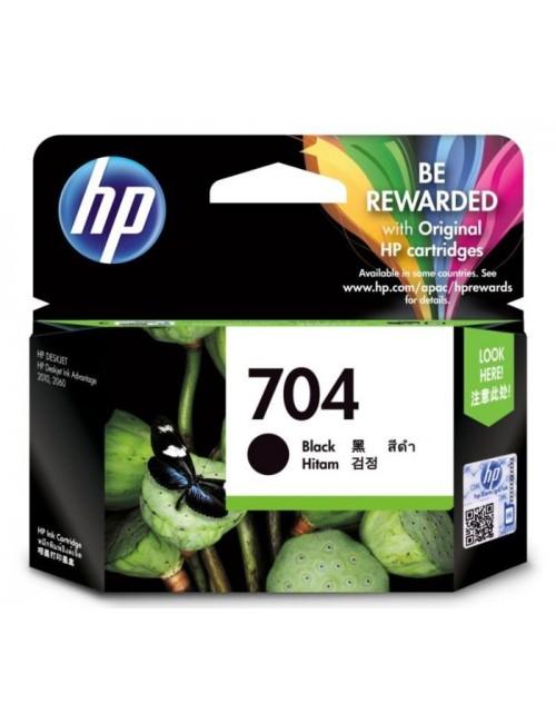 HP INK CARTRIDGE 704 BLACK (ORIGINAL)