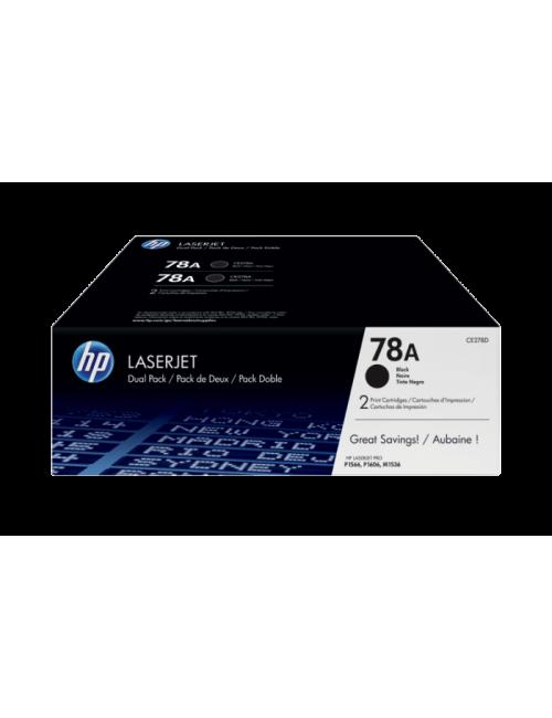 HP TONER CARTRIDGE LASER JET 78A BLACK DUAL PACK DF (ORIGINAL)