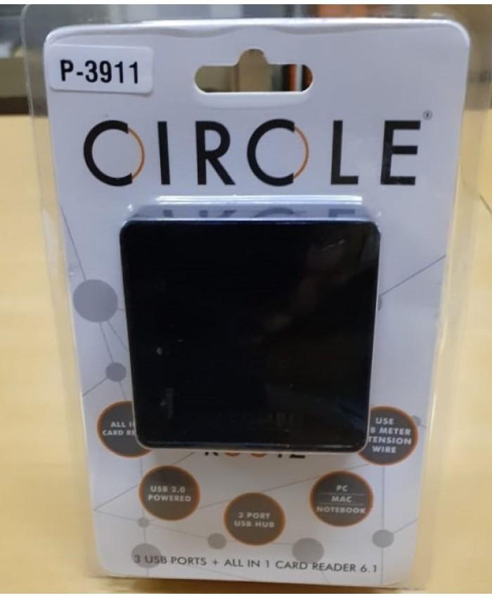 CIRCLE  USB HUB  + CARD READER (ROOTZ 6.1)
