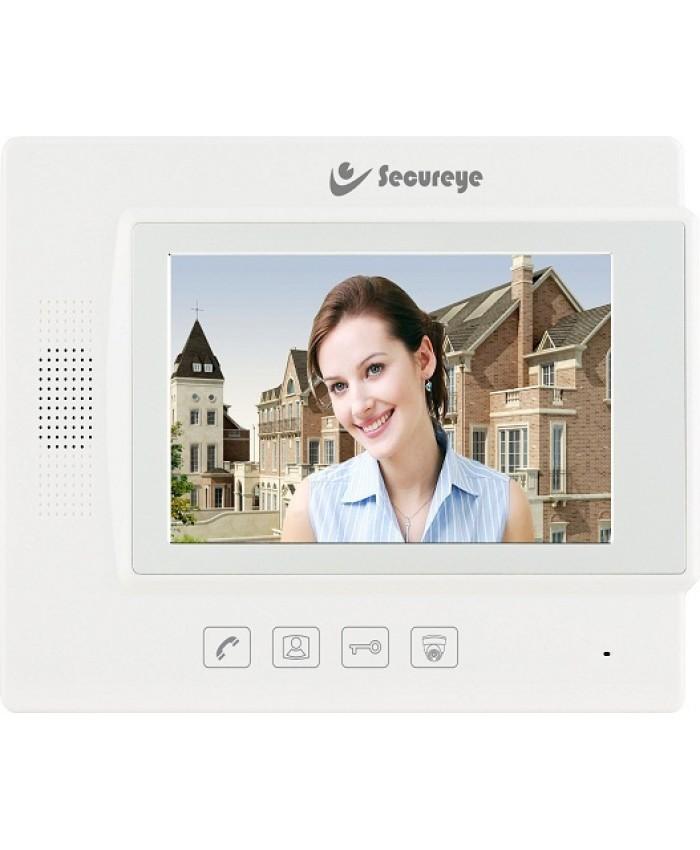 SECUREYE VIDEO DOOR PHONE WITH 7 INCH LCD SCREEN S-VDP8