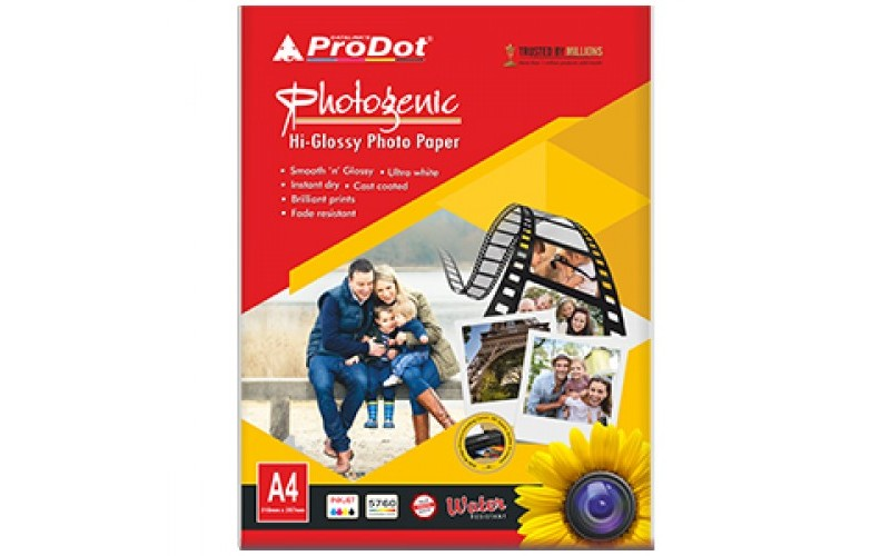 PRODOT GLOSSY PAPER 150 GSM (50 SHEETS)